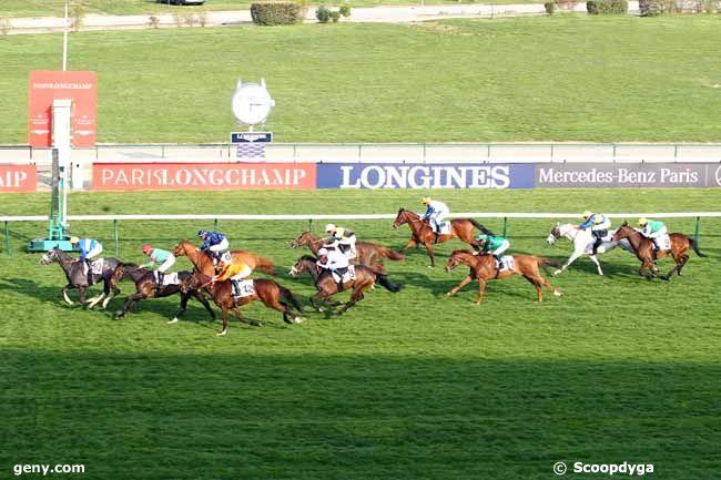 14/04/2019 - ParisLongchamp - Prix de l'Allée de Longchamp : Arrivée