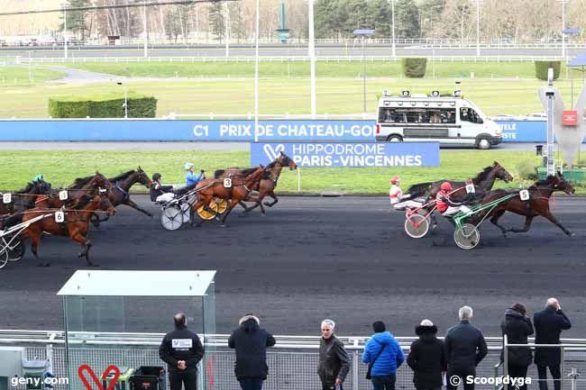 11/02/2020 - Vincennes - Prix de Château-Gontier : Arrivée
