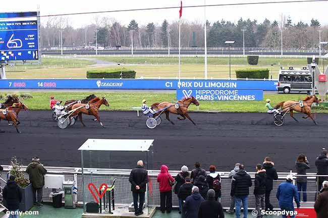 07/01/2020 - Vincennes - Prix du Limousin : Arrivée