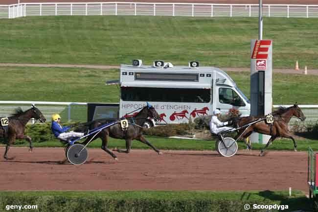 18/10/2010 - Enghien - Prix des Gobelins : Arrivée
