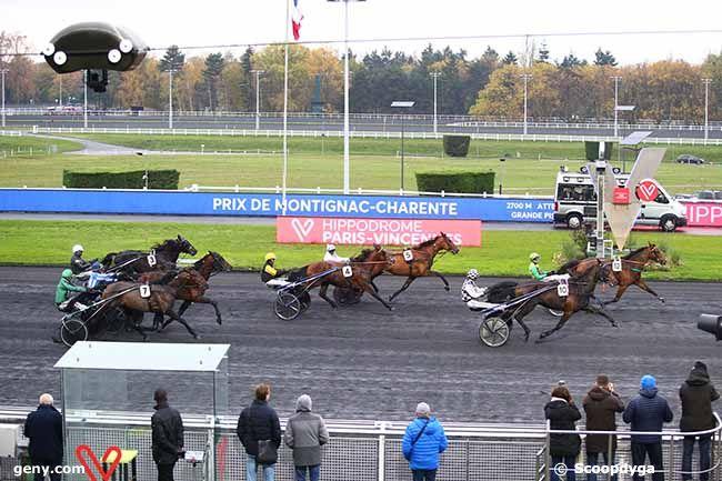 18/11/2019 - Vincennes - Prix de Montignac-Charente : Arrivée