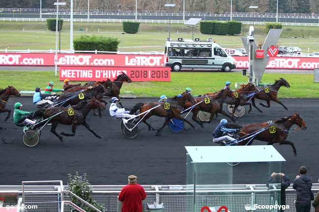24/11/2018 - Vincennes - Prix de Bagnoles de l'Orne : Arrivée