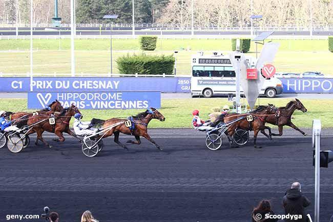 23/02/2021 - Vincennes - Prix du Chesnay : Arrivée