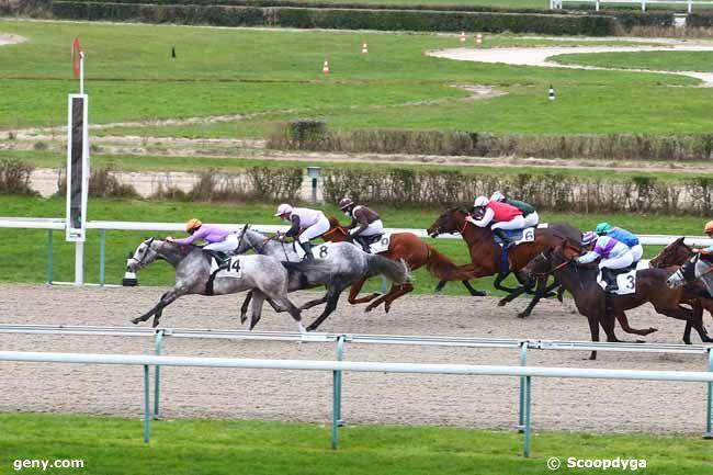 08/01/2021 - Deauville - Prix du Pays d'Ouche : Arrivée