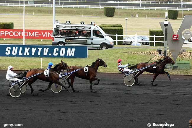 14/02/2012 - Vincennes - Prix de Château-Gontier : Arrivée
