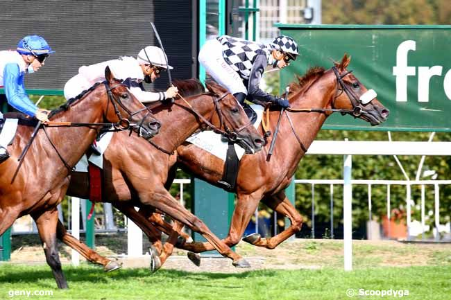 15/09/2020 - Saint-Cloud - Prix de Feucherolles : Arrivée