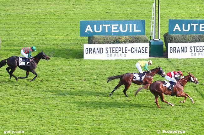 17/10/2020 - Auteuil - Prix Ferdinand Riant : Arrivée