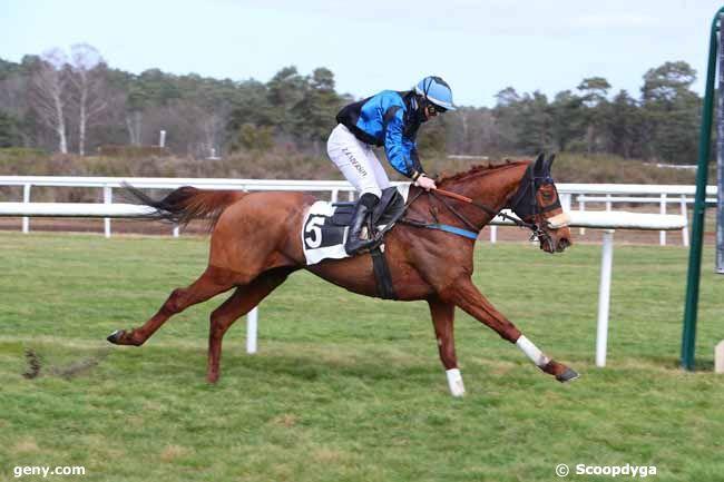 23/02/2021 - Fontainebleau - Prix Gaston de la Motte : Arrivée