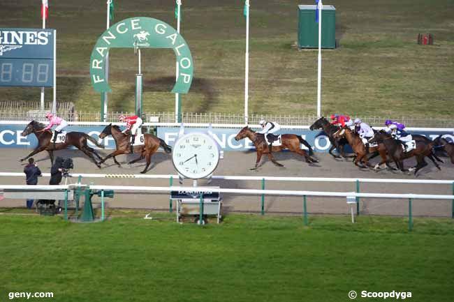 22/02/2021 - Chantilly - Prix de Pau : Arrivée
