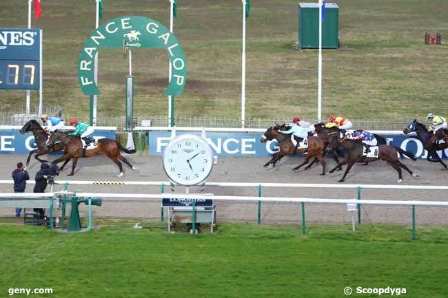 22/02/2021 - Chantilly - Prix de Lyon-la-Soie : Arrivée