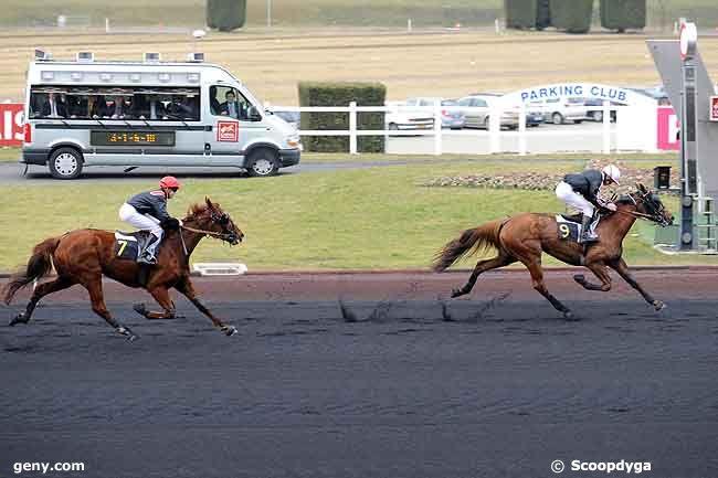 17/02/2009 - Vincennes - Prix de Marmande : Arrivée