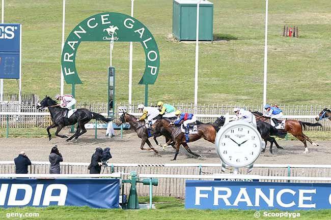 05/03/2019 - Chantilly - Prix du Pays de France : Arrivée