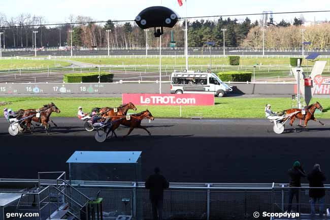 12/02/2018 - Vincennes - Prix de Senlis : Arrivée