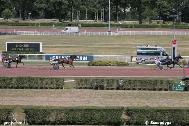 28/05/2011 - Enghien - Prix de l'Obélisque : Arrivée