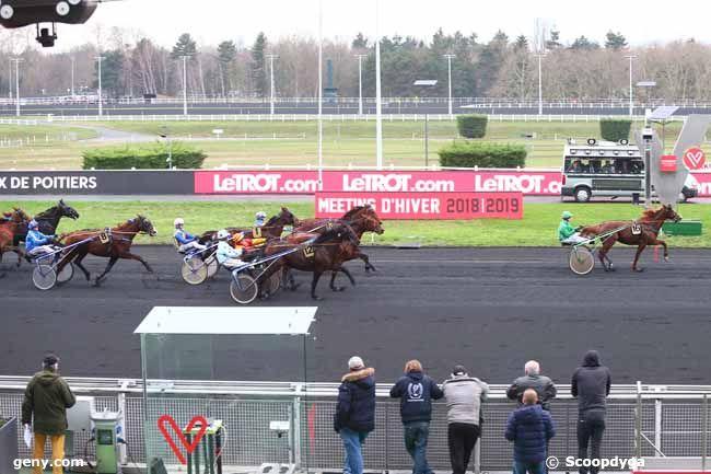 31/12/2018 - Vincennes - Prix de Poitiers : Arrivée