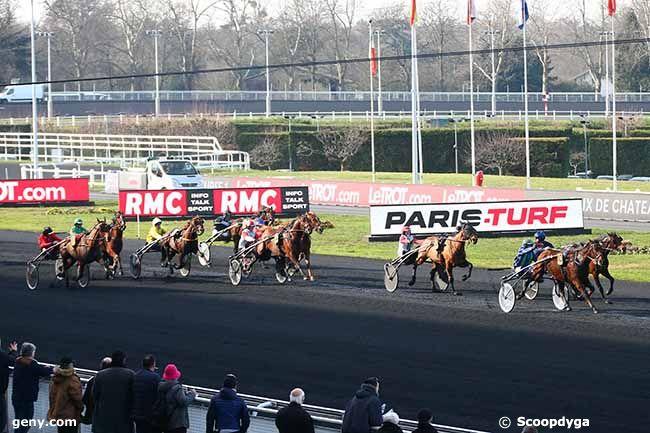 14/02/2019 - Vincennes - Prix de Châteaurenard : Arrivée