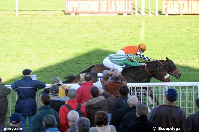 19/11/2009 - Fontainebleau - Prix de la Brie : Arrivée
