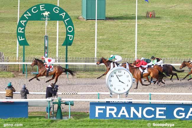 14/02/2020 - Chantilly - Prix de Jagny-sous-Bois : Arrivée