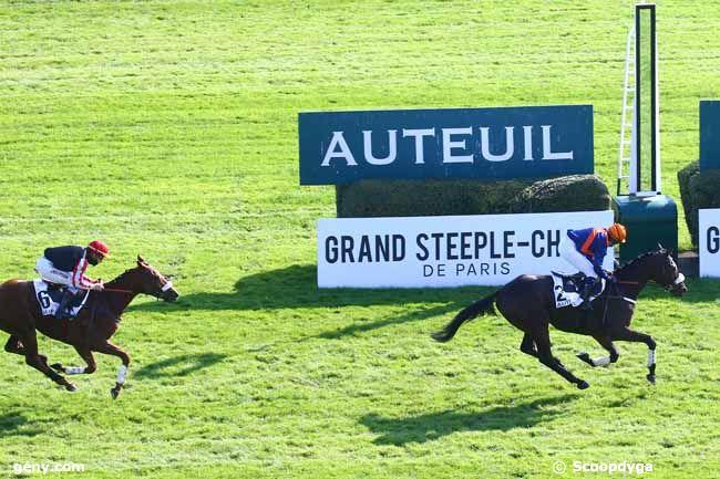 18/10/2020 - Auteuil - Prix Adrien Besnouin : Arrivée