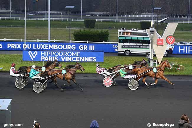 30/01/2021 - Vincennes - Prix du Luxembourg : Arrivée