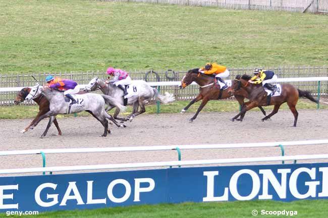 14/02/2020 - Chantilly - Prix de la Route de la Vallée : Arrivée